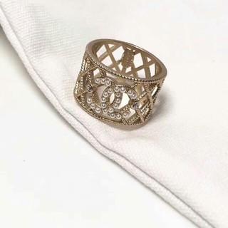 シャネル(CHANEL)のCHANEL シャネル リング 指輪 美品 刻印あり(リング(指輪))