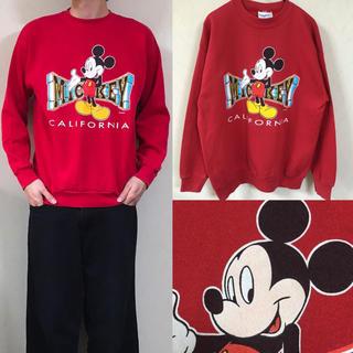 Disney - 90's USA製 disney ミッキー スウェット  ディズニー