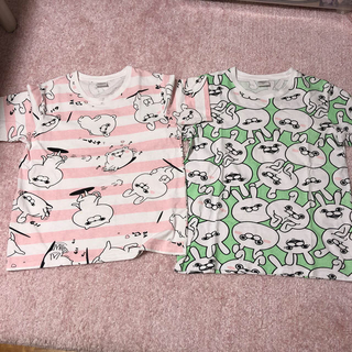 しまむら - ヨッシースタンプ  Tシャツ 2枚セット