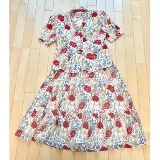 ユキコハナイ(Yukiko Hanai)のハナイユキコ ツーピーススカートドレス 9号サイズ(セット/コーデ)