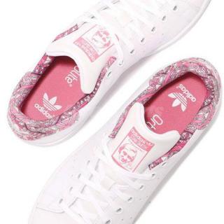 アディダス(adidas)の新品✨アディダス スタンスミス J  スニーカー  ピンク(スニーカー)