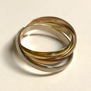 カルティエ(Cartier)のカルティエ トリニティリング(リング(指輪))