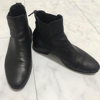 ファビオルスコーニ(FABIO RUSCONI)のfabio rusconi ローヒールサイドゴアブーツ(ブーツ)