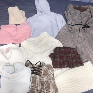 イング(INGNI)のコート付 秋〜冬服まとめ売り10点 新品タグ付あり(セット/コーデ)
