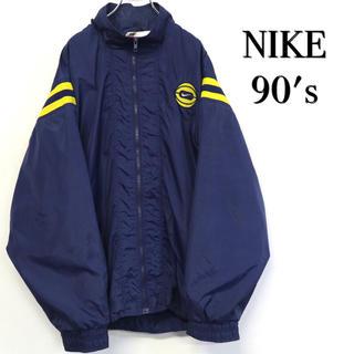 NIKE - 美品 90's NIKE ナイロンジャケット 刺繍ロゴ ウィンドブレーカー