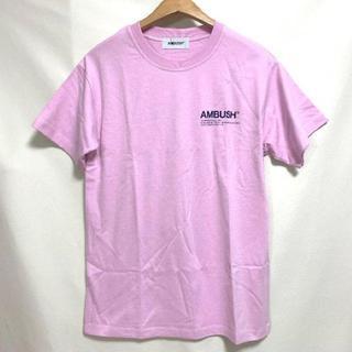 アンブッシュ(AMBUSH)のAMBUSH Tシャツ pink 色(Tシャツ/カットソー(半袖/袖なし))