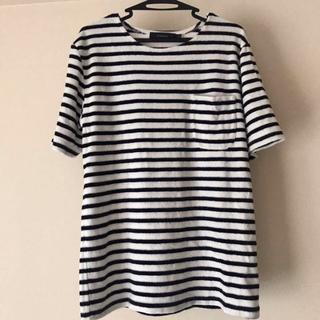 レイジブルー(RAGEBLUE)のTシャツ ボーダー ネイビー レイジブルー ポケT パイル地(Tシャツ/カットソー(半袖/袖なし))
