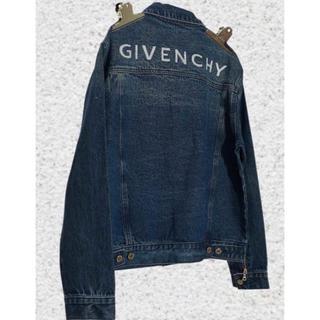 ジバンシィ(GIVENCHY)の【GIVENCHY】19AW ジバンシー バックロゴデニムジャケット 新品未使用(Gジャン/デニムジャケット)