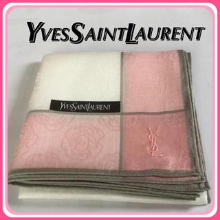【新品】Yves Saint Laurent イヴ サンローラン ハンカチ