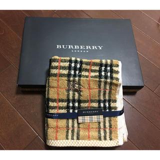 BURBERRY - 新品 バーバリー フェイスタオル 1枚 箱なし