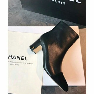 CHANEL - 素敵♥快適 CHANELシャネル ブーツ 革靴  正規品