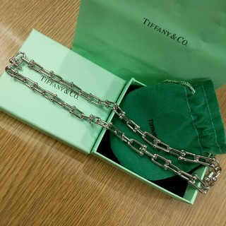 ティファニー(Tiffany & Co.)のTiffany &Co. ネックレス 美品 男女兼用 刻印 箱付き(ネックレス)