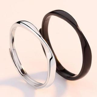 【指輪ケース付】 BS003 指輪 メンズ レディース リング  2個セット(リング(指輪))