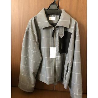 サンシー(SUNSEA)のRyo takashima Drizzler Jacket ガンクラブチェック(ブルゾン)