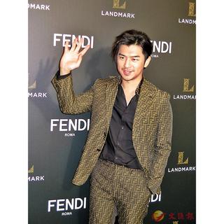 FENDI - 【FENDI】ジャガードパターンFF テーラードジャケット スーツジャケット