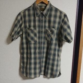 Sugar Cane - クッシュマンの半袖オンブレチェックシャツ