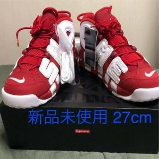 Supreme - 27cm Supreme NIKE AIR MORE UPTEMPO