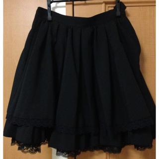 ゴスロリ ロリィタ スカート MIHO MATSUDA(ひざ丈スカート)