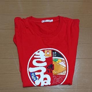 UNIQLO - 赤いきつね Tシャツ M ユニクロ  日清食品