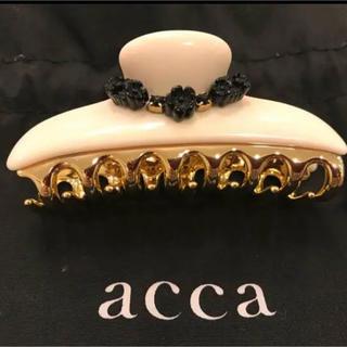 acca - 【美品】acca⭐︎ヘアクリップ