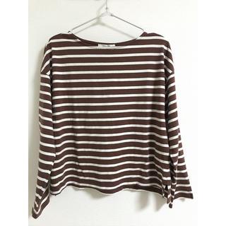 サマンサモスモス(SM2)のバスクシャツ(カットソー(長袖/七分))