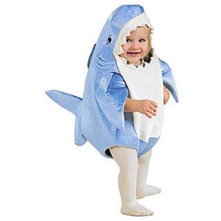 ハロウィン 仮装 コスチューム コスプレ サメ 100cm-110cm