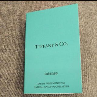 ティファニー(Tiffany & Co.)のティファニー香水サンプル(香水(女性用))