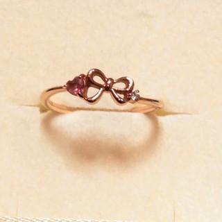 サマンサティアラ(Samantha Tiara)のサマンサティアラ K18 色石 ダイヤモンドリング 4号(リング(指輪))