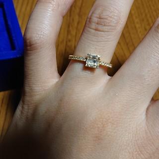 アガット(agete)のベルシオラ 18K ダイヤモンドリング(リング(指輪))