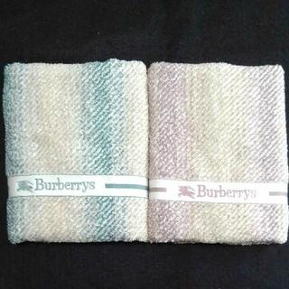 BURBERRY - BURBERRY  フェイスタオル