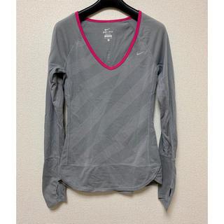 ナイキ(NIKE)のNIKE ドライフィット ロング Tシャツ(Tシャツ(長袖/七分))