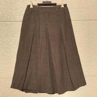 アイシービー(ICB)のiCB スカート ブラウン 7(ひざ丈スカート)