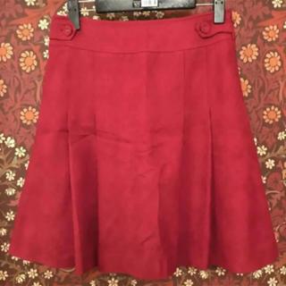 プーラフリーム(pour la frime)の【Pour la frime】チェック柄スカート Sサイズ(ひざ丈スカート)