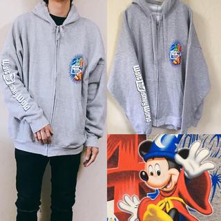 Disney - 90's disny ミッキー スウェット  パーカー ディズニー