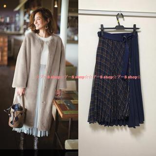 ジャスグリッティー(JUSGLITTY)の新品♡ジャスグリッティー  シアープリーツスカート(ロングスカート)