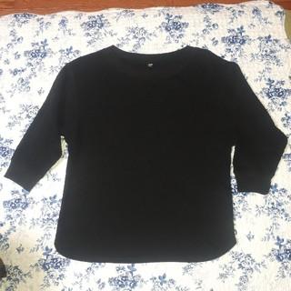 ユニクロ(UNIQLO)のユニクロ ワッフルクルーネックTシャツ(Tシャツ(長袖/七分))