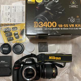 Nikon D3400 一眼レフ カメラ