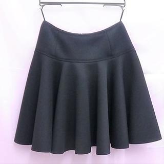 ランバンオンブルー(LANVIN en Bleu)のランバンオンブルー フレアスカート タグ付未使用品です。(ひざ丈スカート)
