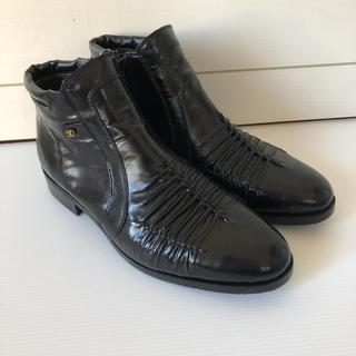 VALENTINO - 未使用品☆VALENTINO GLARIO ビジネスショートブーツ26.5㎝