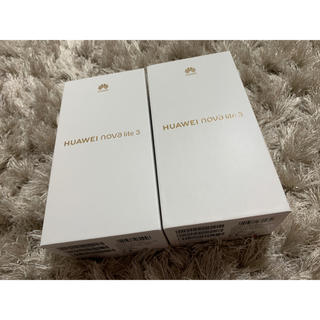 ANDROID - nova lite3【新品未使用】2台セット
