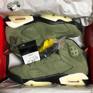 NIKE - JORDAN6 TRAVIS SCOTT 28 Jordan 6 US10