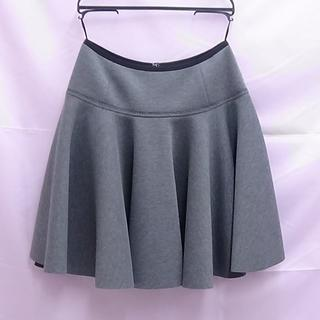 ランバンオンブルー(LANVIN en Bleu)のランバンオンブルー フレアスカート タグ付未使用品です。  (ひざ丈スカート)