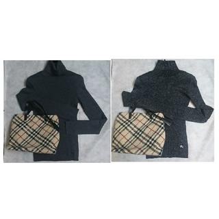 バーバリーブルーレーベル(BURBERRY BLUE LABEL)のチェリー様専用 新品、未使用 BURBERRY  タートルネックセーター(ニット/セーター)