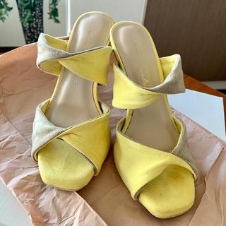 エイミーイストワール(eimy istoire)のエイミーイストワール  サンダル  2tone twist sandal(サンダル)