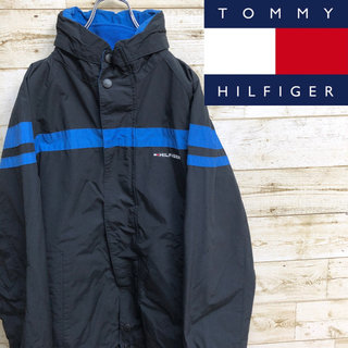 TOMMY HILFIGER - TOMMY HIL FIGER トミーヒルフィルガー ナイロンフリースジャケット