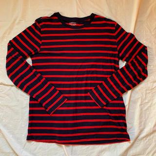 ギャップ(GAP)のGAPボーダーTシャツ(Tシャツ/カットソー(七分/長袖))