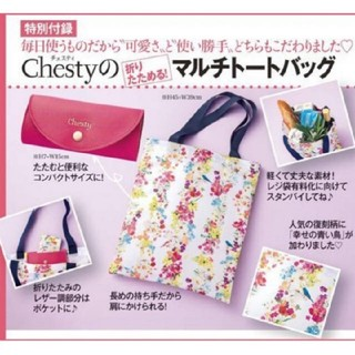 Chesty - 美人百花♡chestyトートバック