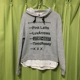 PINK-latte - パーカー(PINK-latte)