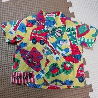 ミキハウス(mikihouse)の半袖シャツ(シャツ/カットソー)
