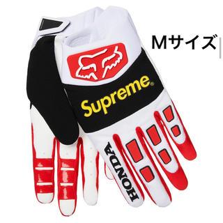 シュプリーム(Supreme)の19AW Supreme Honda Fox Racing Gloves M 赤(装備/装具)